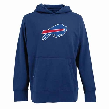 Buffalo Bills Big Logo Mens Signature Hooded Sweatshirt (Color: Royal)
