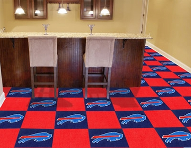 Buffalo Bills Carpet Tiles