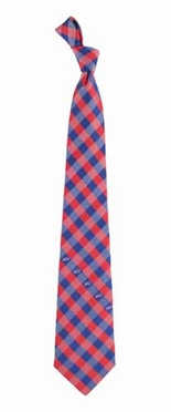 Buffalo Bills Check Poly Necktie