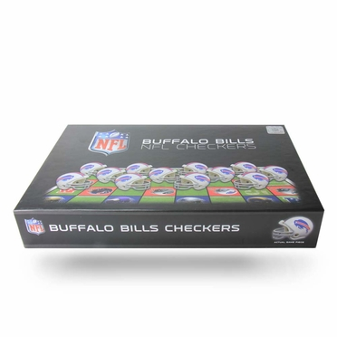 Buffalo Bills Checkers Set