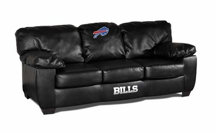 Buffalo Bills Leather Classic Sofa