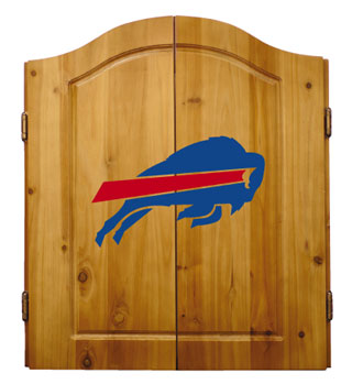 Buffalo Bills Complete Dart Cabinet