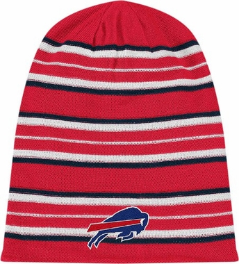 Buffalo Bills Cuffless Reversible Long Knit Hat