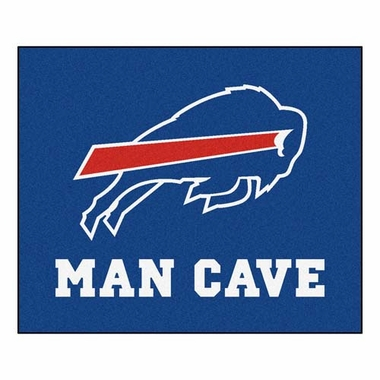 Buffalo Bills Economy 5 Foot x 6 Foot Man Cave Mat