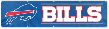 Buffalo Bills Eight Foot Banner