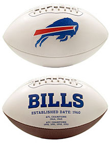 Buffalo Bills Embroidered Signature Series Football