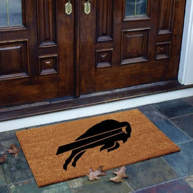 Buffalo Bills Flocked Coir Doormat