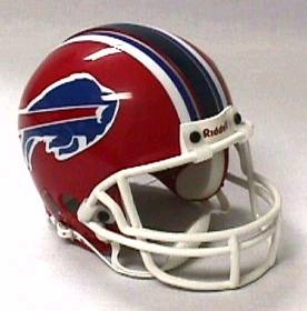 Buffalo Bills Football Helmet - Mini Replica