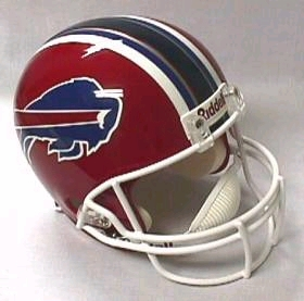 Buffalo Bills Full Sized Replica Helmet