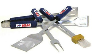Buffalo Bills Grill BBQ Utensil Set