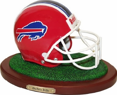 Buffalo Bills Helmet Figurine