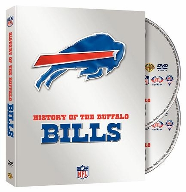 Buffalo Bills History of the Buffalo Bills DVD