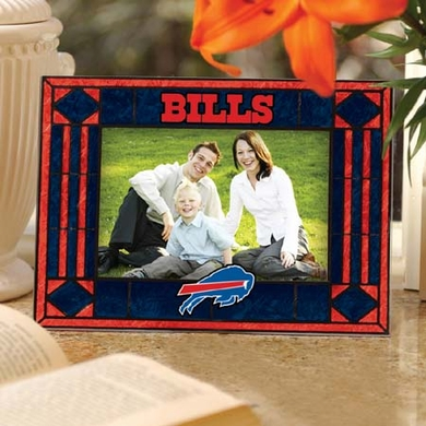 Buffalo Bills Landscape Art Glass Picture Frame