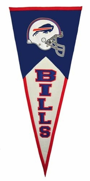 Buffalo Bills Large Wool Pennant