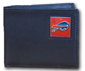 Buffalo Bills Leather Bifold Wallet (F)