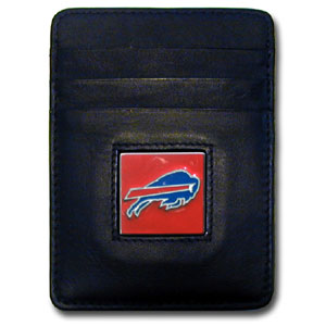 Buffalo Bills Leather Money Clip (F)