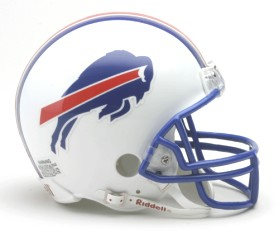 Buffalo Bills Mini Replica Throwback Football Helmet