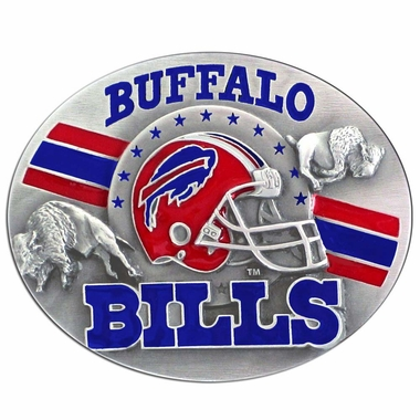Buffalo Bills Enameled Belt Buckle