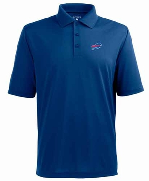 Buffalo Bills Mens Pique Xtra Lite Polo Shirt (Team Color: Royal)