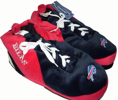 Buffalo Bills Plush Sneaker Slippers