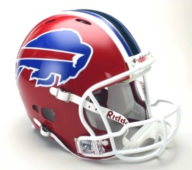 Buffalo Bills Riddell Full Size Authentic Revolution Helmet