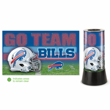 Buffalo Bills Rotating Lamp