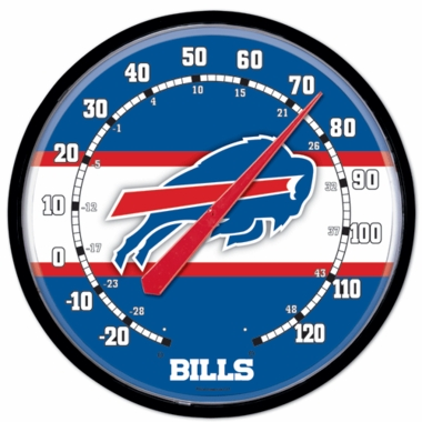 Buffalo Bills Round Wall Thermometer