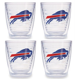 Buffalo Bills Set of FOUR 12 oz. Tervis Tumblers