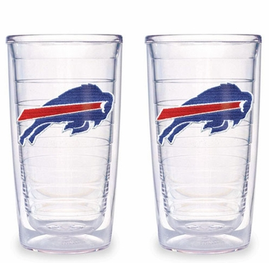 Buffalo Bills Set of TWO 16 oz. Tervis Tumblers
