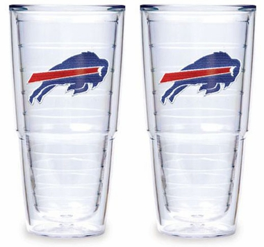 "Buffalo Bills Set of TWO 24 oz. ""Big T"" Tervis Tumblers"