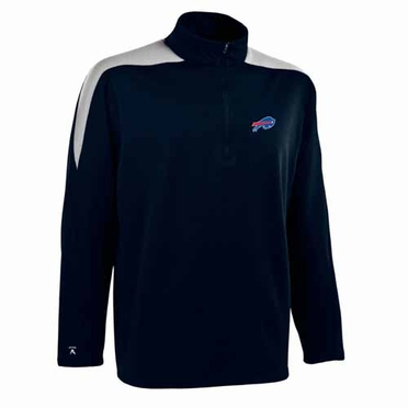 Buffalo Bills Mens Succeed 1/4 Zip Performance Pullover (Color: Smoke)