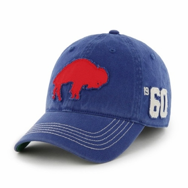 Buffalo Bills Throwback Badger Franchise Flex Fit Hat