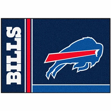 Buffalo Bills Uniform Inspired 20 x 30 Rug