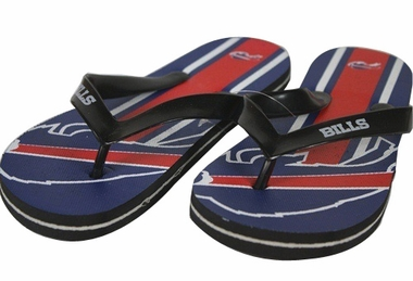Buffalo Bills Unisex Big Logo Flip Flops