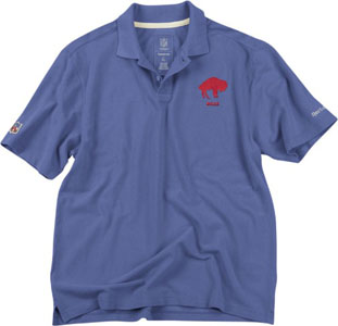 Buffalo Bills Vintage Retro Polo Shirt - Medium