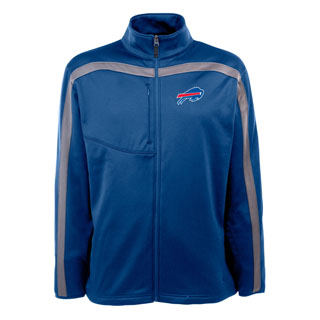 Buffalo Bills Mens Viper Full Zip Performance Jacket (Team Color: Royal)
