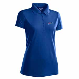 Buffalo Bills Womens Pique Xtra Lite Polo Shirt (Team Color: Royal) - Large