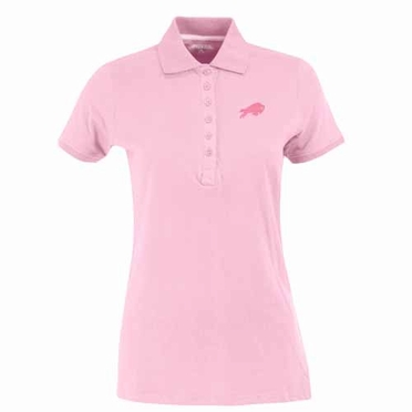 Buffalo Bills Womens Spark Polo (Color: Pink)