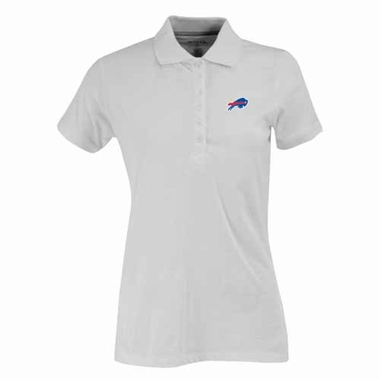 Buffalo Bills Womens Spark Polo (Color: White)