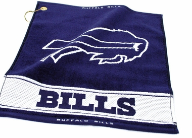 Buffalo Bills Woven Golf Towel