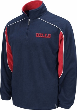 Buffalo Bills YOUTH Final Score 1/4 Zip Polar Fleece