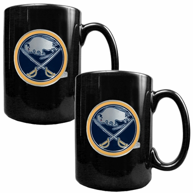 Buffalo Sabres 2 Piece Coffee Mug Set
