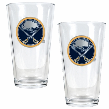 Buffalo Sabres 2 Piece Pint Glass Set