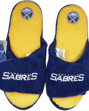 Buffalo Sabres 2011 Open Toe Hard Sole Slippers