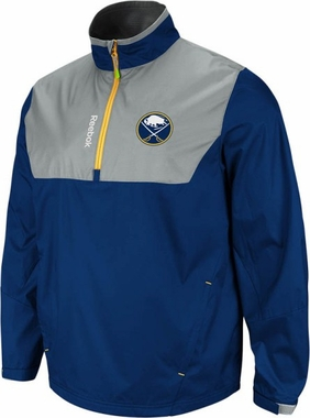 Buffalo Sabres 2012 1/4 Zip Performance Hot Jacket