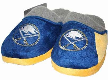 Buffalo Sabres 2012 Sherpa Slide Slippers - Large