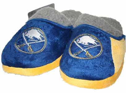 Buffalo Sabres 2012 Sherpa Slide Slippers - Small