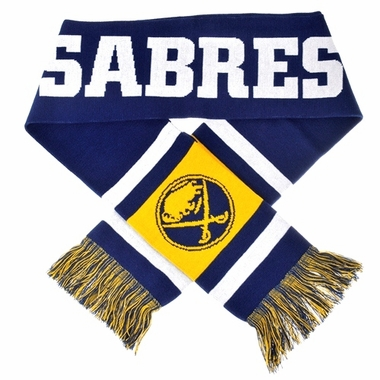 Buffalo Sabres 2012 Team Stripe Knit Scarf