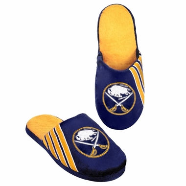 Buffalo Sabres 2012 Team Stripe Logo Slippers