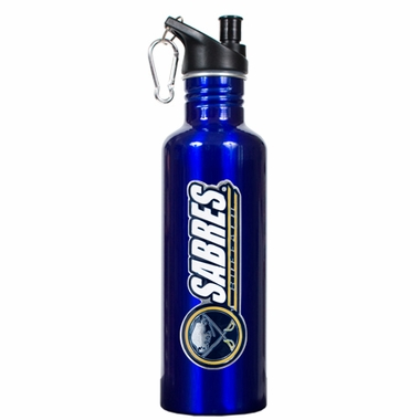 Buffalo Sabres 26oz Stainless Steel Water Bottle (Team Color)